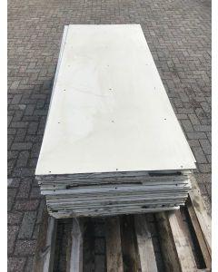Trespa / HPL Plaat (Wit) 227 x 90 cm - Dikte: 6 mm.