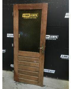 Binnendeur 82,5 B x 200,5 H (Linksdraaiend)