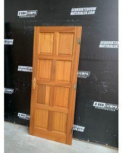 Binnendeur 82,5 B x 200,5 H (Rechtsdraaiend)