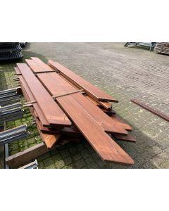 Hardhouten Plank 19,5x4 cm | Lengte: 240cm