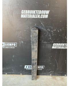 Zwarte Diamantkoppaal (106 cm)