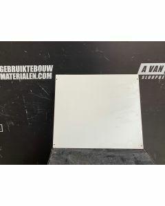 Trespa / HPL Plaat (Wit) 60 x 51 cm - Dikte: 6 mm.