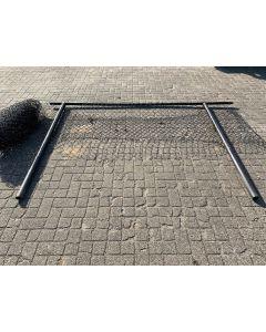 Gaas hekwerk met Bovenbuis en Paal, 300 L x 100 H