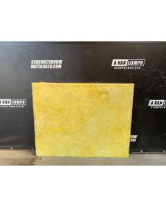 Isolatie Glaswol 130 x 100 cm (Dikte: ± 4 cm)