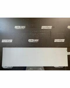 Trespa / HPL Plaat (Grijs) 69,5 x 246 cm - Dikte: 6 mm