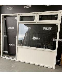 Houten Raamkozijn + Achterdeur, 300 B x 242 H