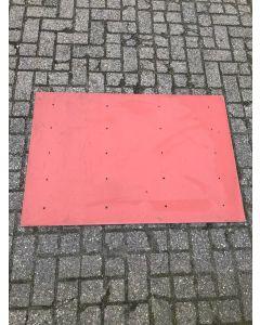 Trespa / HPL Plaat (Rood) 118 x 80 cm - Dikte: 6 mm