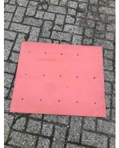 Trespa / HPL Plaat (Rood) 80 x 67 cm - Dikte: 6 mm