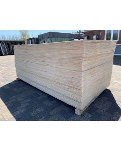 Nieuwe Vareplex Radiata Pine Underlayment 122x244 cm | 18 mm