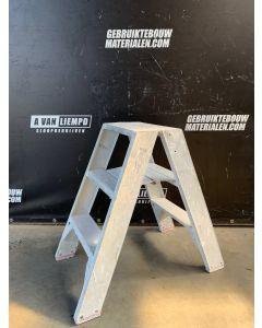 Dubbele Aluminium Trap - 2x3 Treden