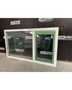 Aluminium Raamkozijn Met Draai-Kiepraam, 183 B x 104 H