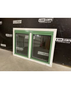 Aluminium Raamkozijn, 128,5 B x 104 H
