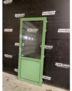 Aluminum Buitendeur 89 B x 211,5 H (Rechtsdraaiend)