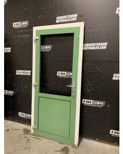 Aluminium Buitendeur + Kozijn 98 B x 214 H (Linksdraaiend)