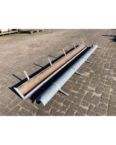Zinken mastgoot Model M37, 290 cm lang