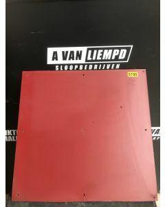 HPL / Trespa Plaat (Rood) 60 x 58 cm - Dikte: 6 mm.