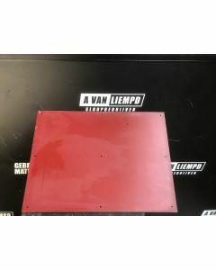 HPL / Trespa Plaat (Rood) 79 x 58 cm - Dikte: 6 mm.