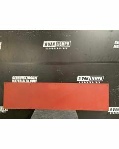 HPL / Trespa Plaat (Rood) 160 x 40 cm - Dikte: 6 mm.