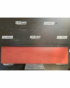 HPL / Trespa Plaat (Rood) 247 x 60,5 cm - Dikte: 6 mm