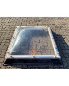BIK Lichtkoepel Met Opstand, 100 B x 100 L