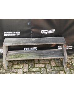 Hardhouten Trap, 15 B x 41 H
