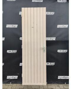 Achterdeur / Schuurdeur 66 B x 210,5 H (Linksdraaiend)