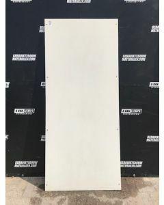 Trespa / HPL Plaat  (Wit)163 x 81 cm - Dikte: 6 mm.