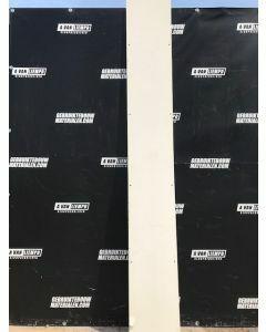 Trespa / HPL Plaat (Beige) 280 x 35 cm - Dikte: 10 mm.