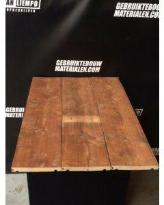 Uniek robuust vloerdeel / dakbeschot, 19,5 B x 2.4 D