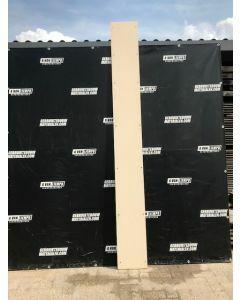 Trespa / HPL Plaat (Beige) 215 x 35 cm - Dikte: 10 mm.